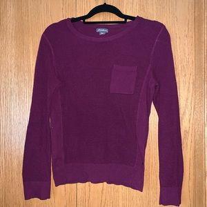 Eddie Bauer Pocket Front Sweater